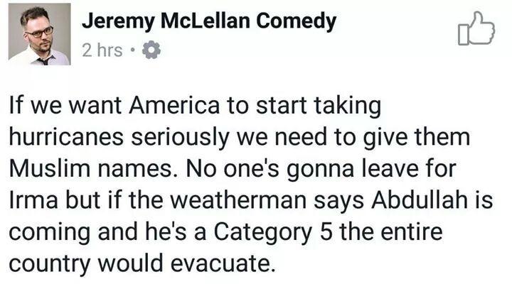 Run muslims are coming - meme
