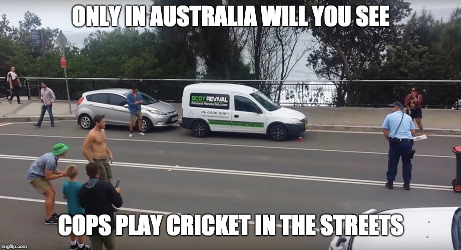 Cops In Straya - meme