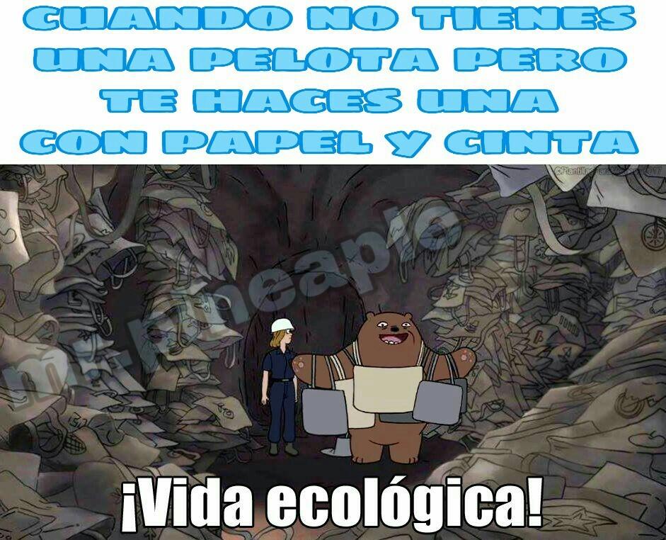 Vida ecologica - meme
