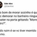 O TÍTULO TA NO BANHEIRO