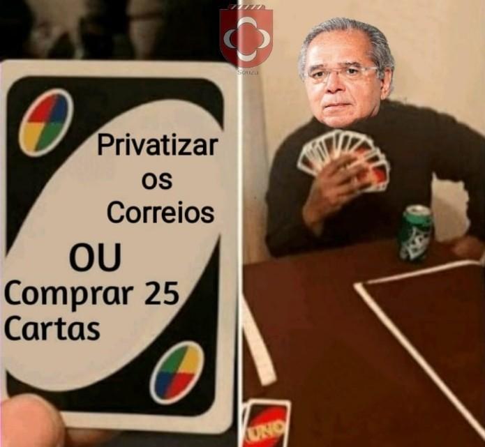 Vamos privatizar o Paulo Guedes! - meme