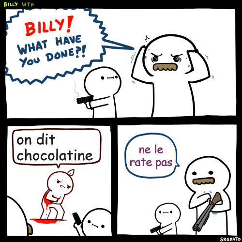 Pain au chocolat - meme