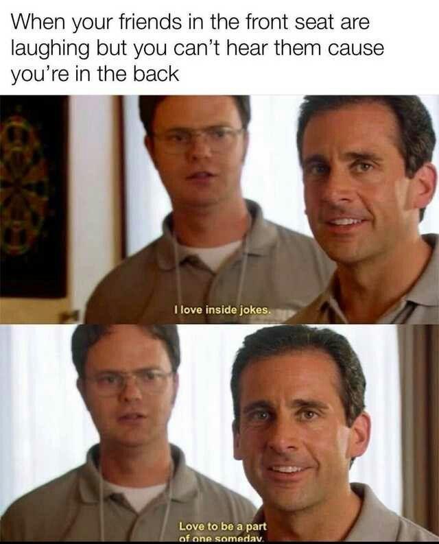 why u laughing - meme