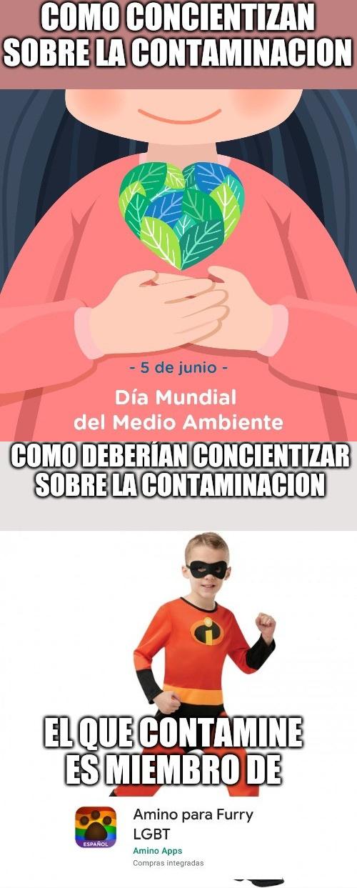 Contaminación - meme