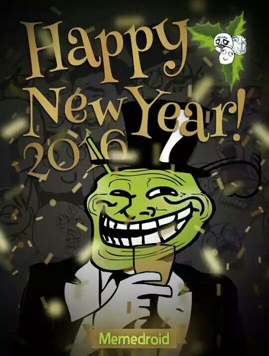 Happy New Year! - meme