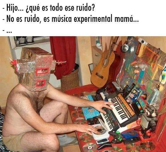 Cuando tu sueño es ser músico - meme