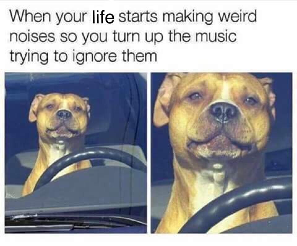 happens too often man. :( - meme