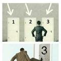 La tercera puerta