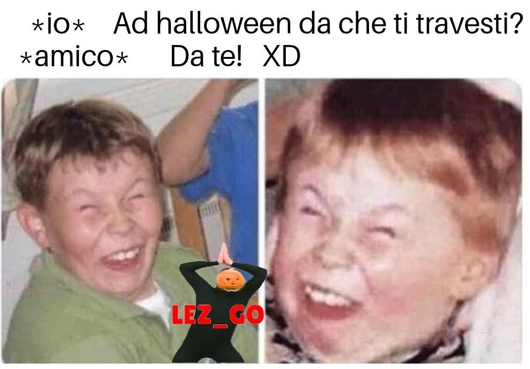 Felice Halloween - meme