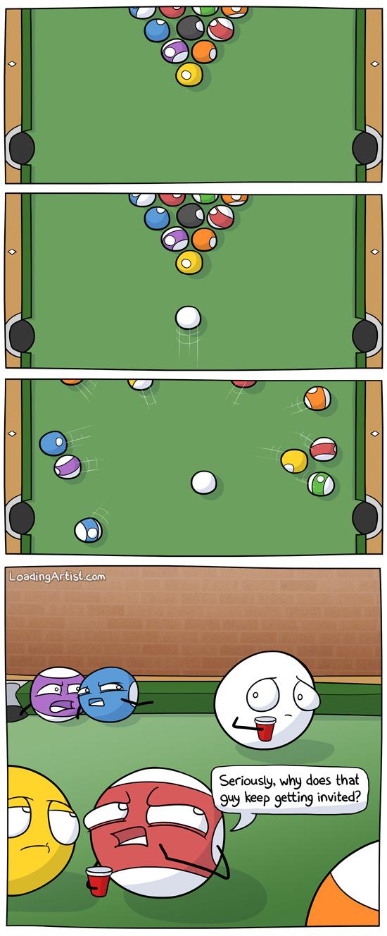 Pool - meme