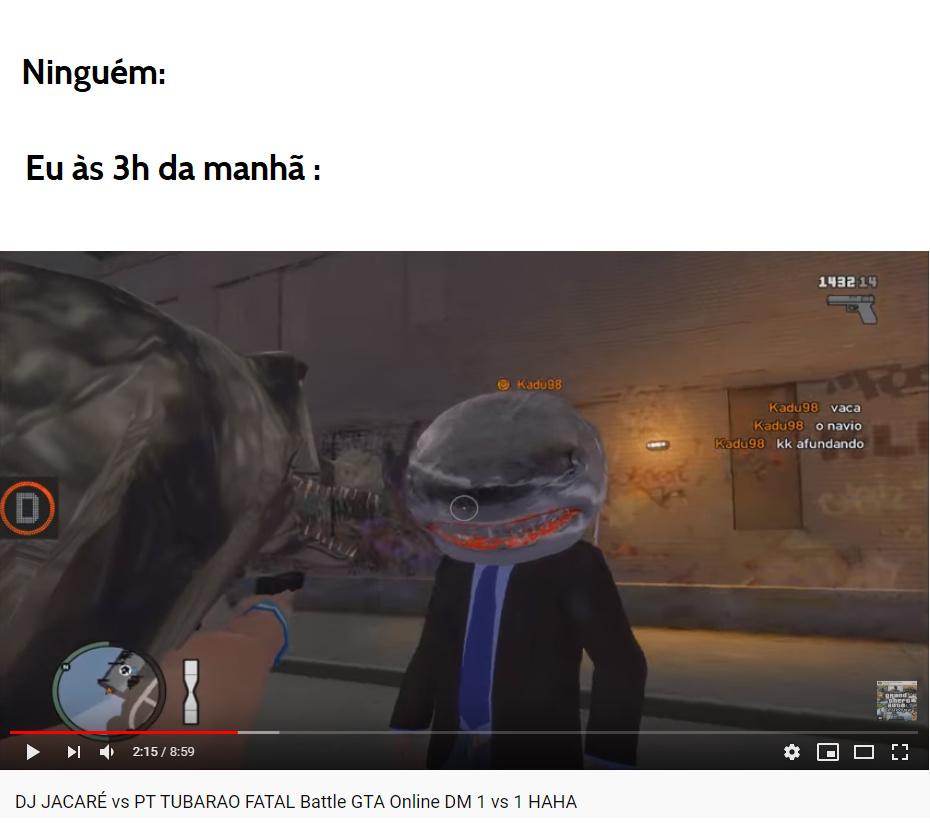 dj jacaré vs pt tubarão vs 1 haha - meme