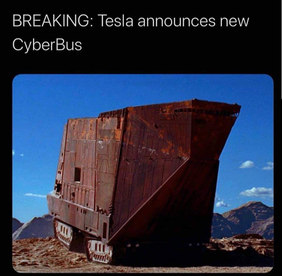 New cybervan - meme