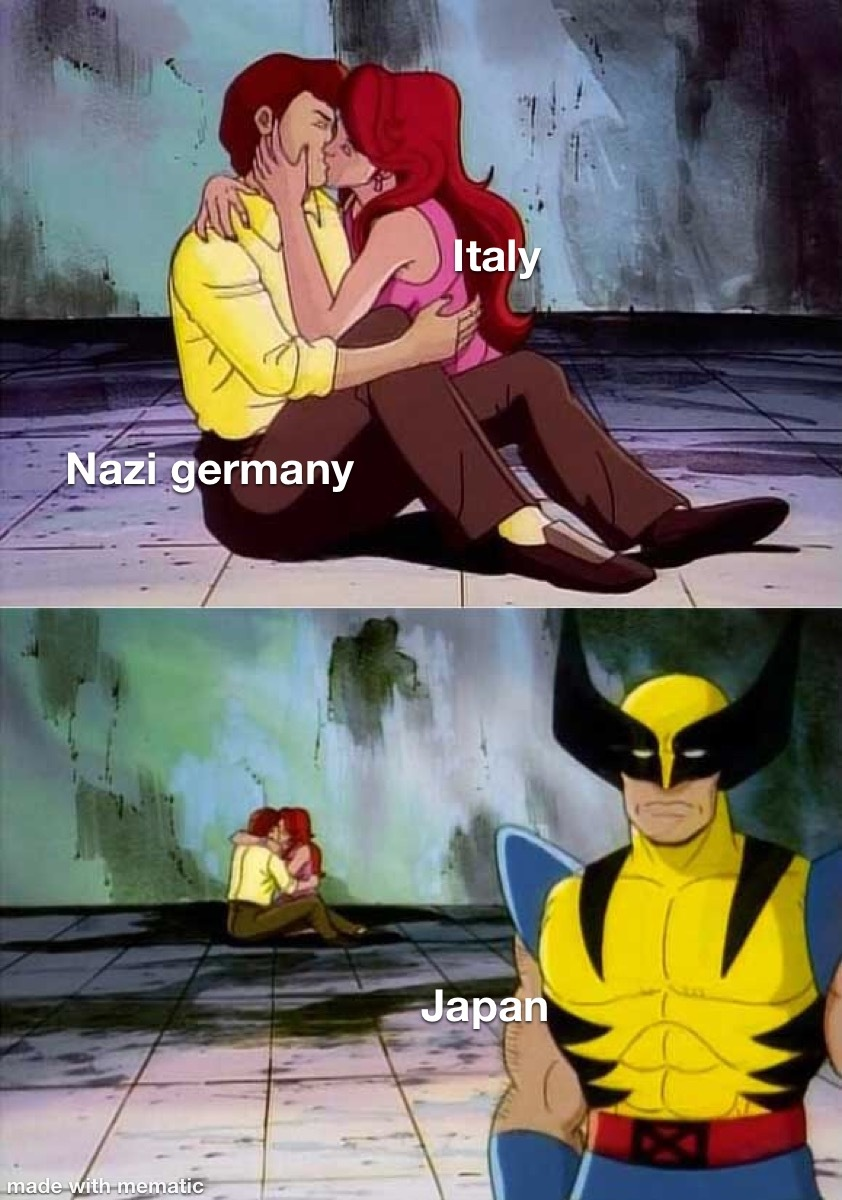 Axis powers gang - meme