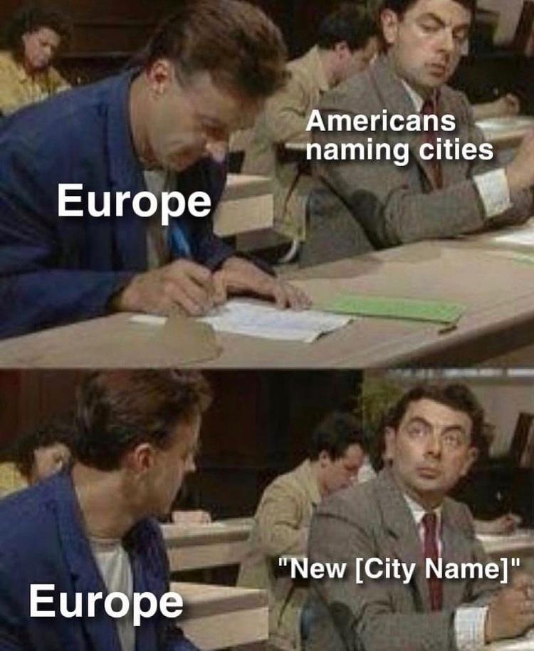 New Amsterdam - meme