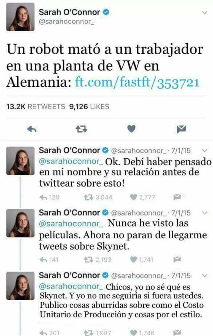 Skynet sape!! :v - meme