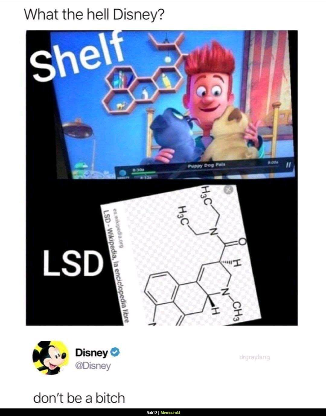 Disney my boi - meme