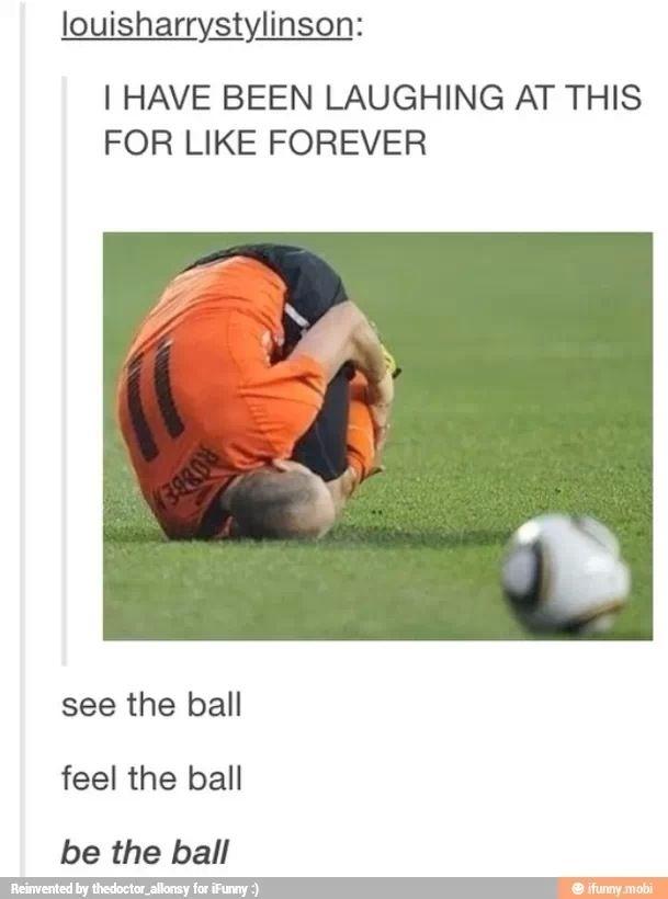 Be the ball - meme