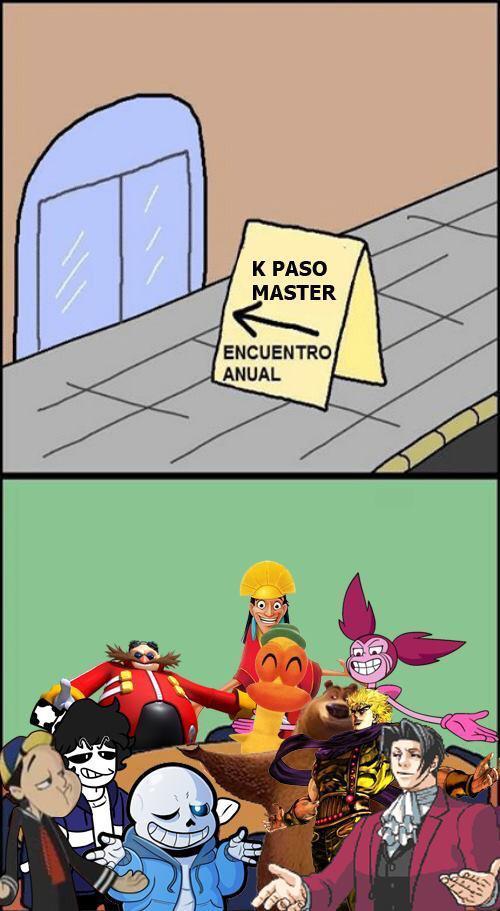 K pasó master - meme