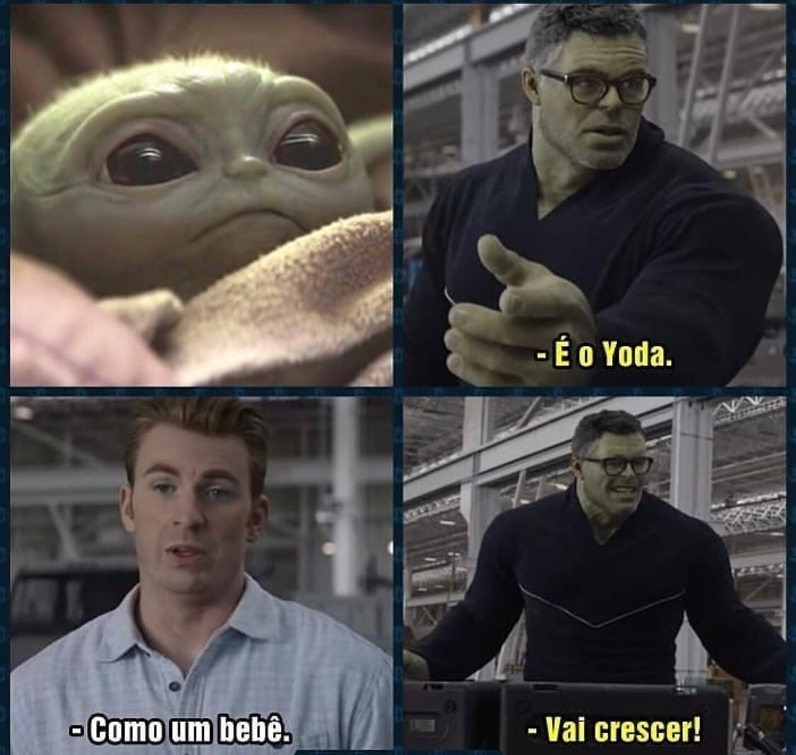 Vingadores - meme