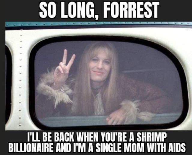Jenny was a piece of shit - meme