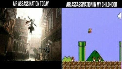 Air Assassination - meme