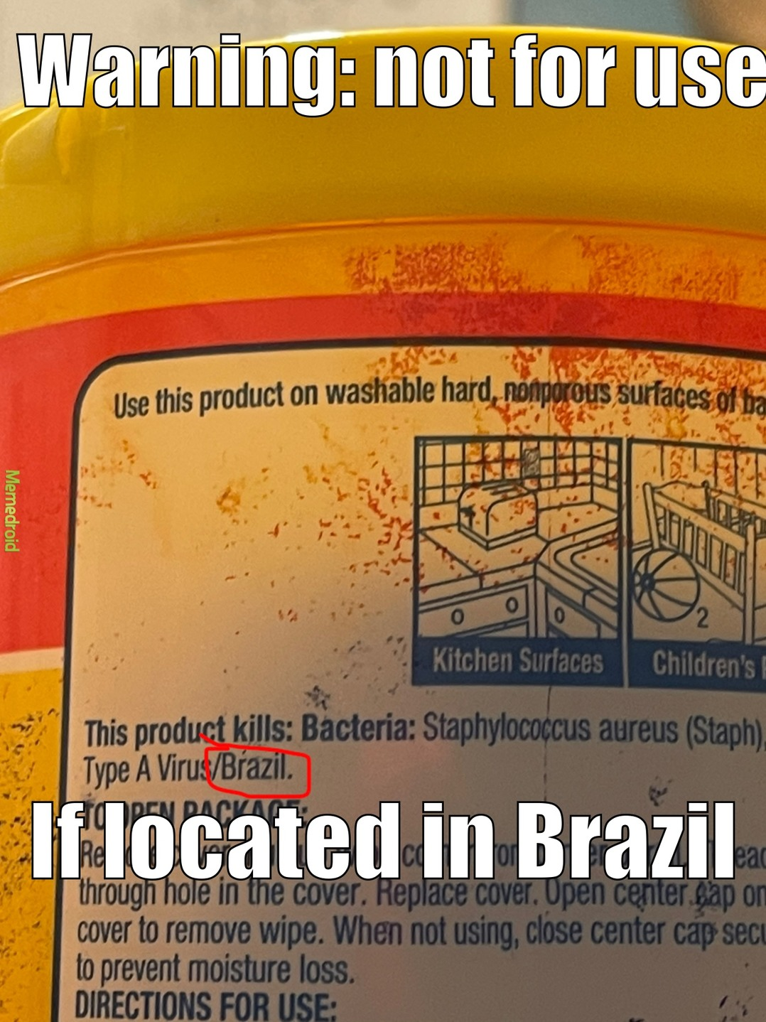I'm sorry, Brazil - meme
