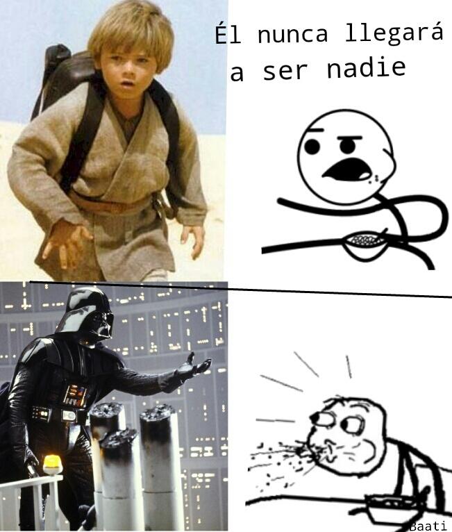 Jajaja Anakin a Darth vader - meme