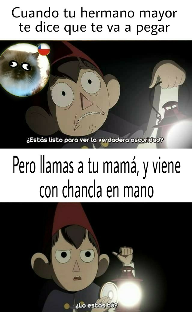 *Chanclaso intensifies* - meme