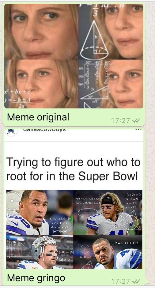o título foi copiado - meme