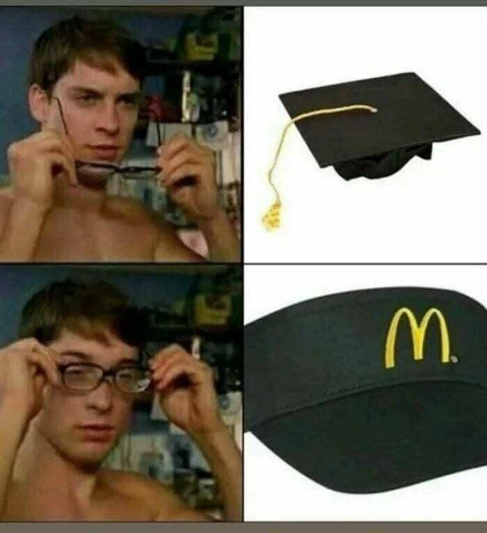 The future is McDonalds - meme