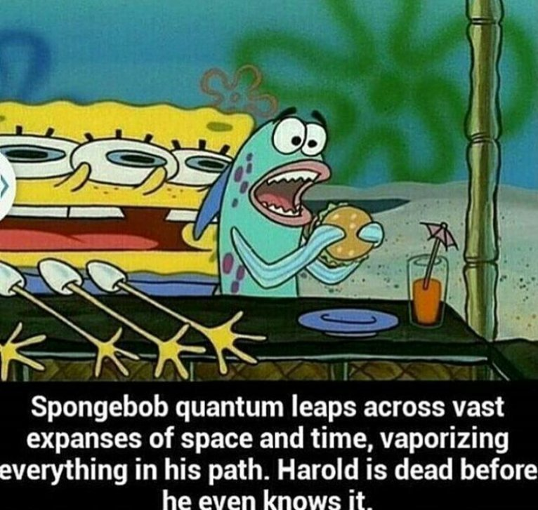 Spongebob Science - meme