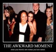 That awkward moment - meme