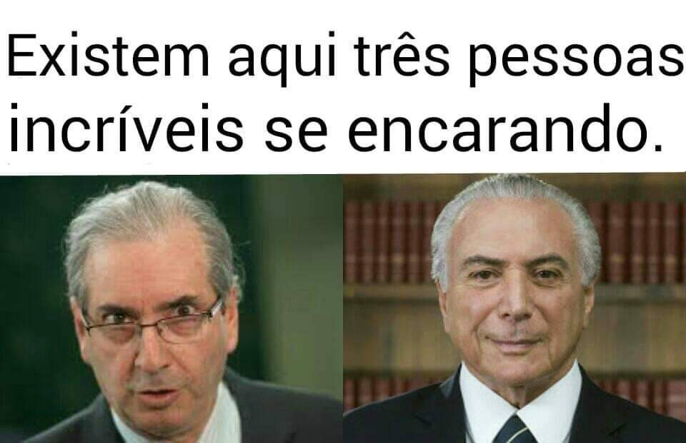 Saudade do glorioso presidente tender - meme