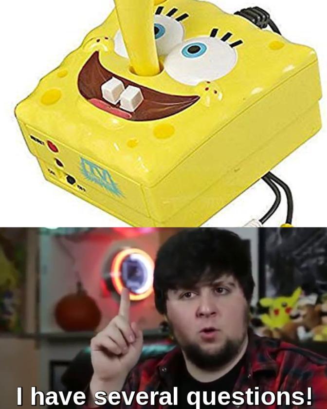 Spongebob's what? - meme