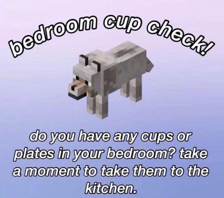 check ur room kiddos - meme