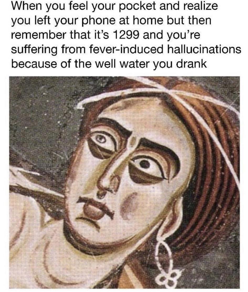 Mmmmmmm...taste the well water - meme