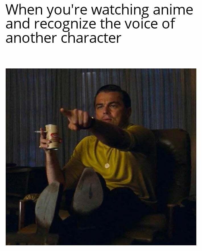 Christopher Sabat is one. - meme