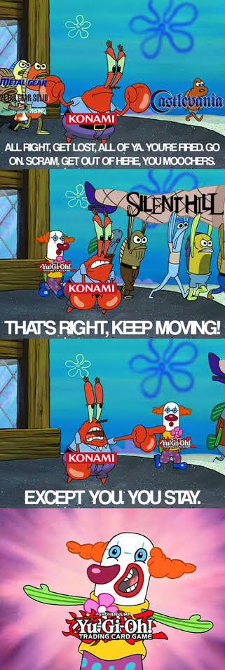 Konami. - meme