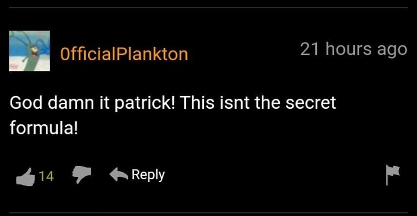 Dammit Patrick - meme