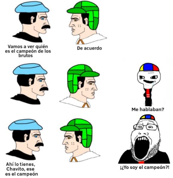 Don Chadmón y el Chadvo - meme