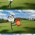 Não vou mais saborear um salgadinho no parque. Talvez no chuveiro :yaoming: