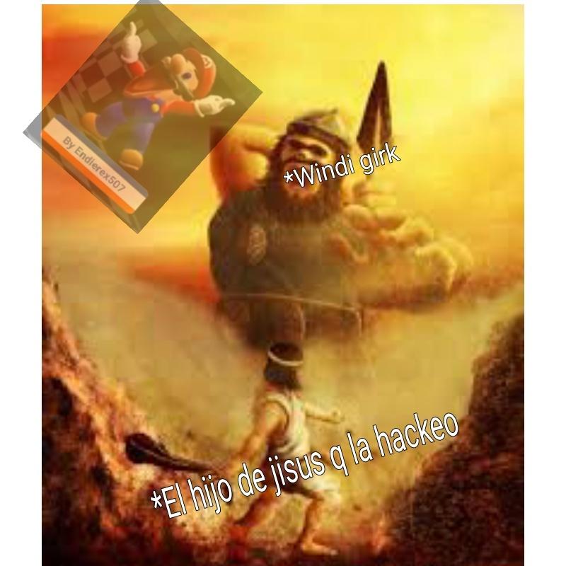 No se quien fue pero es un dios - meme