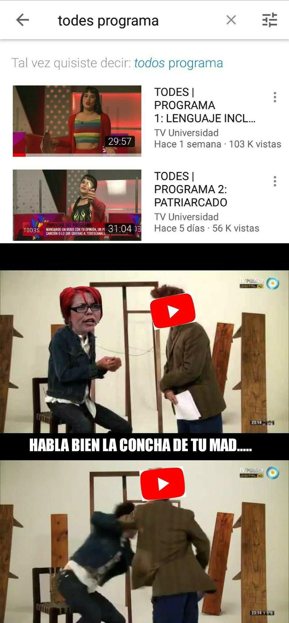 La TV PUBLICA ES MI MARCA DE AGUA ( PÚBLICA )  - meme