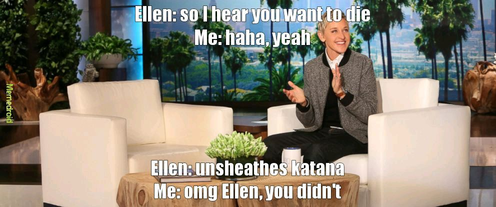 Ellen the djinn - meme