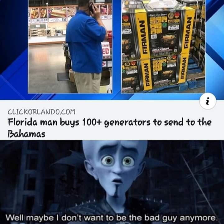 Florida man do gooder - meme