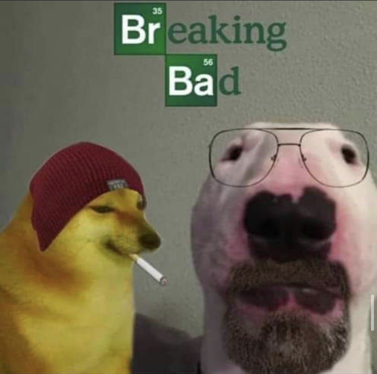 Breaking bar - meme