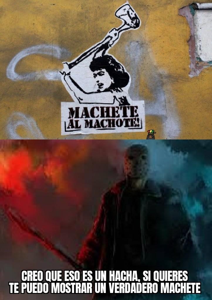 Un capo el Jason - meme