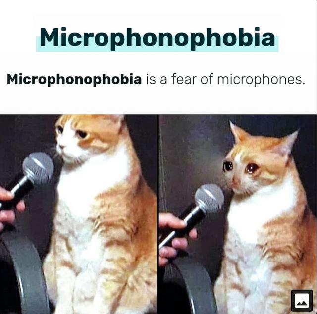 Alejate microfono - meme
