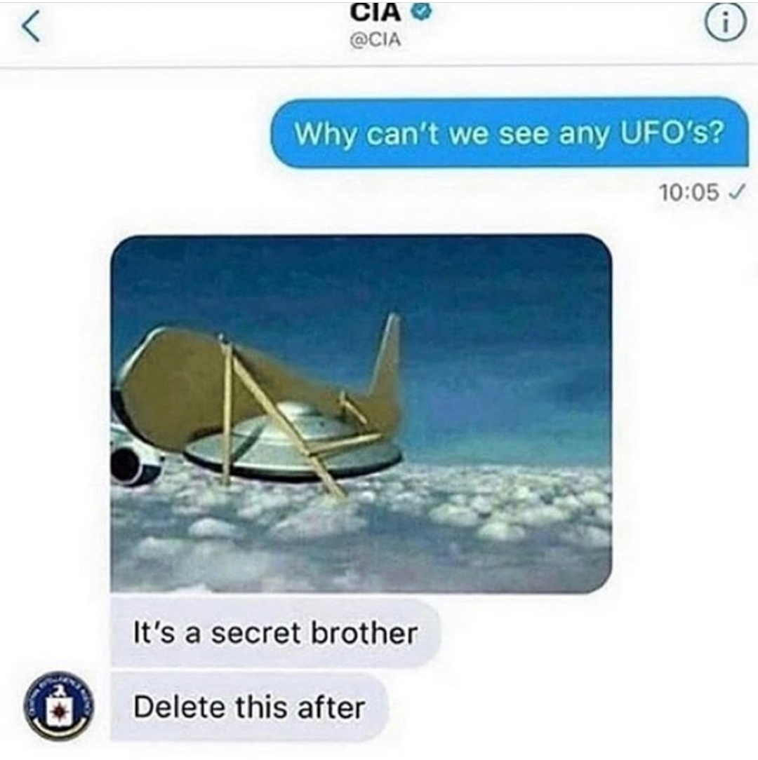 Thank you very much CIA - meme