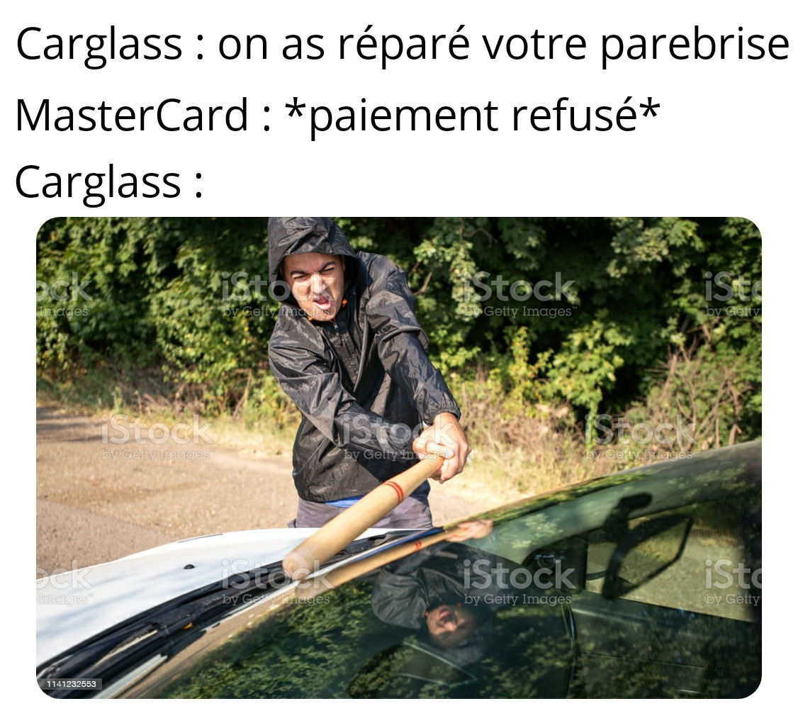 Bonjour je suis Cortesio de Carglass - meme